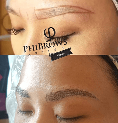 tatuera ögonbryn borås