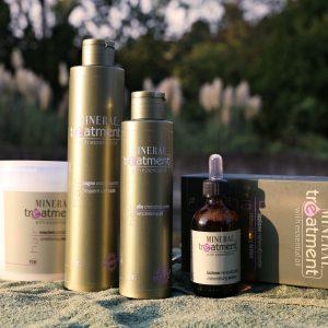 Mineral treatment - Keratin